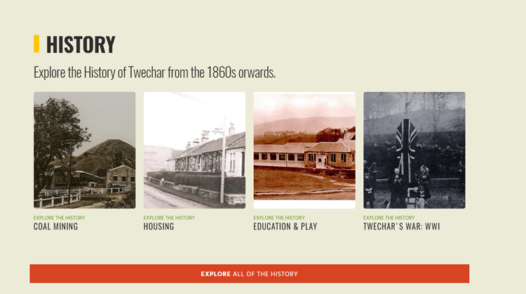 Twechar - An Oral History of a Pit Village Website Launch