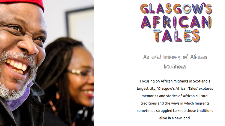 Glasgow's African Tales -  Website Launch