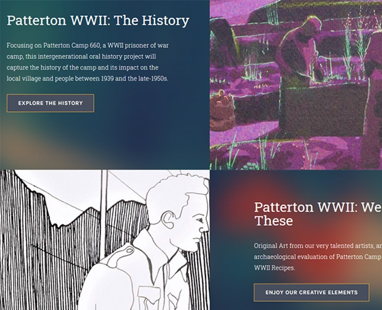 Patterton WWII: A POW Camp and its Neighbours