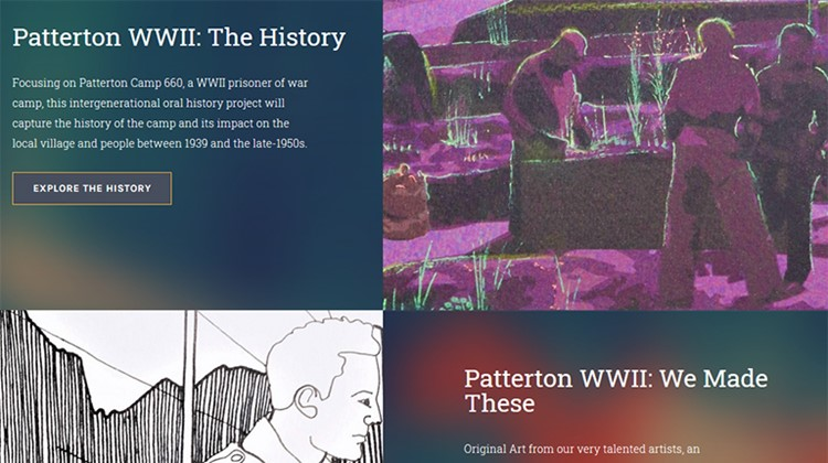Launch of  Patterton WWII Website
